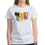 Belgium Flag Women's T-Shirt