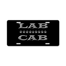 Lab Cab Aluminum License Plate