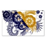 Bosnia and Herzegovina Flag Sticker (Rectangle 50