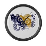 Bosnia and Herzegovina Flag Large Wall Clock