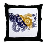 Bosnia and Herzegovina Flag Throw Pillow