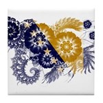 Bosnia and Herzegovina Flag Tile Coaster