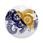 Bosnia and Herzegovina Flag Ornament (Round)