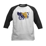 Bosnia and Herzegovina Flag Kids Baseball Jersey