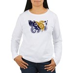 Bosnia and Herzegovina Flag Women's Long Sleeve T-
