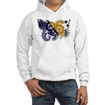 Bosnia and Herzegovina Flag Hooded Sweatshirt