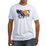 Bosnia and Herzegovina Flag Fitted T-Shirt