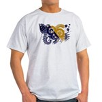 Bosnia and Herzegovina Flag Light T-Shirt