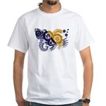 Bosnia and Herzegovina Flag White T-Shirt