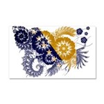 Bosnia and Herzegovina Flag Car Magnet 20 x 12
