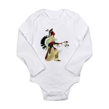 Unique Dance costumes Long Sleeve Infant Bodysuit