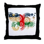 Central African Republic Flag Throw Pillow