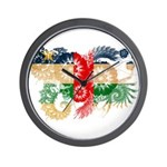 Central African Republic Flag Wall Clock