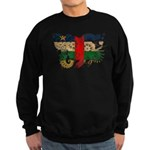 Central African Republic Flag Sweatshirt (dark)