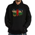 Central African Republic Flag Hoodie (dark)