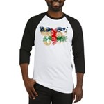 Central African Republic Flag Baseball Jersey