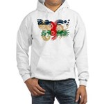 Central African Republic Flag Hooded Sweatshirt