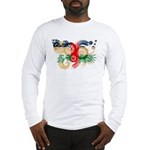 Central African Republic Flag Long Sleeve T-Shirt