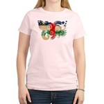 Central African Republic Flag Women's Light T-Shir
