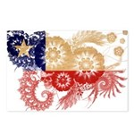 Chile Flag Postcards (Package of 8)