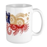 Chile Flag Large Mug