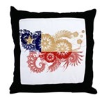 Chile Flag Throw Pillow