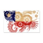 Chile Flag 22x14 Wall Peel