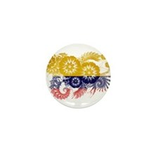 Colombia Flag Mini Button (10 pack)