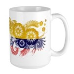 Colombia Flag Large Mug