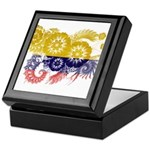 Colombia Flag Keepsake Box