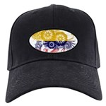 Colombia Flag Black Cap