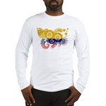 Colombia Flag Long Sleeve T-Shirt