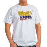 Colombia Flag Light T-Shirt