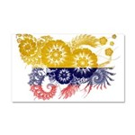 Colombia Flag Car Magnet 20 x 12