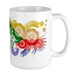 Comoros Flag Large Mug