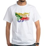 Comoros Flag White T-Shirt