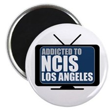 "Addicted to NCIS: Los Angeles 2.25"" Magnet (100 pa"