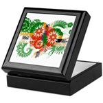 Dominica Flag Keepsake Box