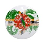 Dominica Flag Ornament (Round)