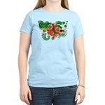 Dominica Flag Women's Light T-Shirt
