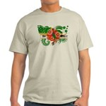 Dominica Flag Light T-Shirt