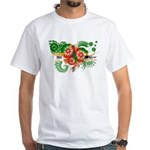 Dominica Flag White T-Shirt