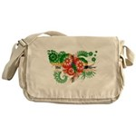 Dominica Flag Messenger Bag