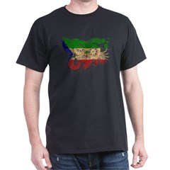 Equatorial Guinea Flag Dark T-Shirt