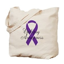Cute Epilepsy awareness Tote Bag