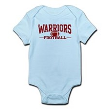 Warriors Football Infant Bodysuit