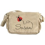 Ladybug Susan Messenger Bag