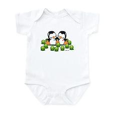 Tennis Penguins Infant Bodysuit