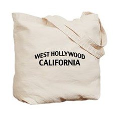 West Hollywood California Tote Bag