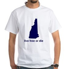 BLUE Live Free or Die Shirt